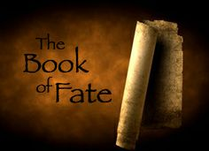 The BOOK OF FATE - a divine scroll of destiny, written and kept by the almighty Ananke... until an unexpected turn of events. (Illustration for Scene 1.12: No Time)