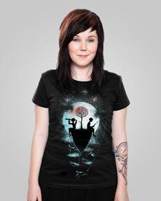 The Dreamers t-shirt design #dreams #night #tshirt