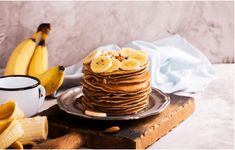 Nutrisystem provides a delicious and simple recipe for Banana Pancakes that requires just three simple ingredients. Chocolate Chip Cookies, Oatmeal Raisin Cookies, Melting Chocolate Chips, Chocolate Topping, Honey Mustard Pretzels, Sweet Potato Muffins, Caramel Tart, Pancake Stack, Banana Pancakes