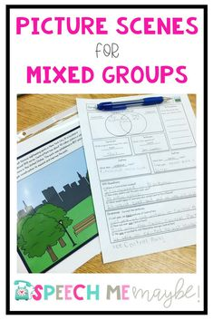 This resource is meant to help create engaging, relevant lessons for your mixed groups. In the school setting, our schedules sometimes force us to service articulation, language, and pragmatic kiddos all at one time. I was struggling to find ONE activity Articulation Activities, Speech Therapy Activities, Speech Language Pathology, Language Activities, Speech And Language, Toddler Activities, Receptive Language, Language Development, School Lessons