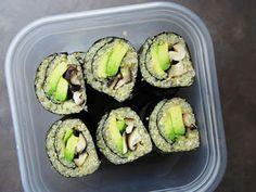 Quinoa sushi rolls (instead of rice)