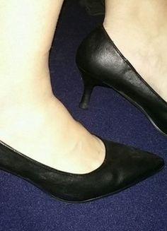 47ec76776e77d5 Chaussure Femme Escarpin, Chaussures Femme, Escarpins Noirs, Basique,  Simili, Talons,. Vinted