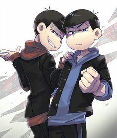 Osomatsu-san- Osomatsu & Karamatsu #Anime「♡」 おそ松 カラ松