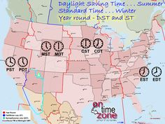 Rhode Island State Division Of Information Technology Mail - Us state map with time zones