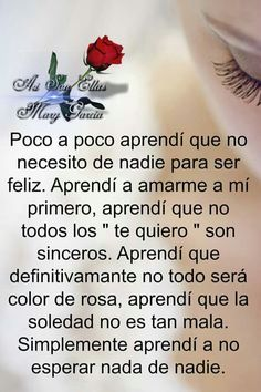 Autoayuda y Superacion Personal Reminder Quotes, Me Quotes, Qoutes, Strong Quotes, Positive Quotes, Quotes About Everything, Spanish Quotes, Spanish Humor, True Words