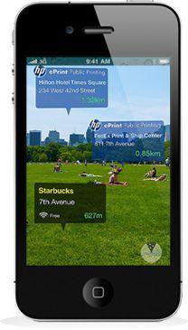 Useful Augmented Reality Application, WorkSnug