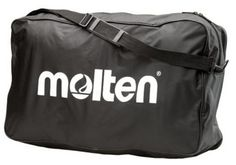 Tote all your sports equipment along with you by using the Molten Sports Bag . This bag features a bold white logo on black nylon fabric. An adjustable. Nike Basketball Bag, Volleyball Gear, Basketball Equipment, Basketball Tricks, Custom Basketball, Sports Equipment, Division, Accessories