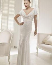 Buy Wedding Dress Ronald Joyce Pilar 2013 at cheap price Black Wedding Gowns, Buy Wedding Dress, Dream Wedding Dresses, Wedding Dress Styles, Bridal Dresses, Sequin Wedding, Ronald Joyce, Brave Women, Satin