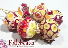 Hey, I found this really awesome Etsy listing at https://www.etsy.com/au/listing/527713082/handmade-lampwork-artisan-glass-bead-set