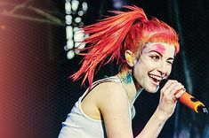<b>Paramore's frontwoman is passionate, fashionable, and her stage presence is as fiery as her hair.</b> Here's every reason to love this pop-punk goddess.