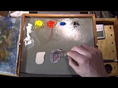 How To Mix Pale Umber - Color Mixing Exercises Acrylic Painting Techniques, Painting Videos, Painting Lessons, Art Techniques, Art Lessons, Mixing Paint Colors, Color Mixing, Grape Color, Pen And Wash