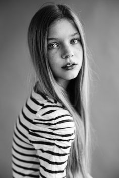 Model Test | Nastya S. | April 2012 by Andrey Ivanov, via Behance