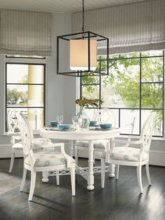 Ivory Key Knapton Hill Round Dining Table | Lexington Home Brands