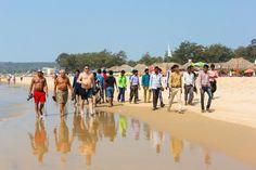 Пляж Baga beach