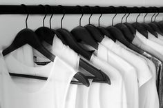 Black/White in a closet
