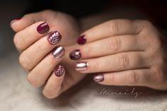 #gelnails #almond #manicure #diamond #square #nailart