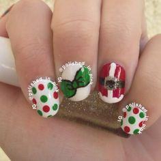 christmas by polished_in_pink #nail #nails #nailart