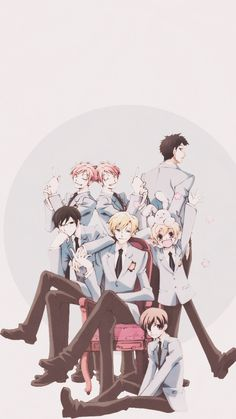 ORRON HIGH SCHOOL HOST CLUB * cant spell*  ~Endera