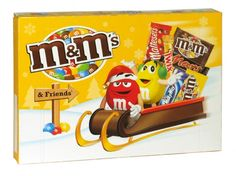 M&m's and friends christmas selection box