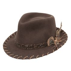 36c635f8a36ae Charlie 1 Horse Wild Horse - Soft Wool Fedora Hat  137.98 The richly  detailed Wild Horse fedora is wildly appealing. Unlike any other fedora out  there