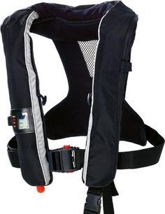 Baltic GP 150N Automatic Lifejacket – Black, 40-150 Kg