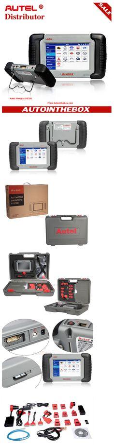 Original Autel MaxiDas DS708 Auto Diagnostic Tool OBD EOBD Scanner  http://www.autointhebox.com/autel-maxidas-ds708-scanner_c17 #obd2