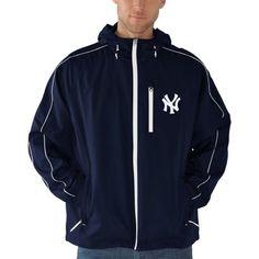 New York Yankees Timeout Full Zip Jacket - Navy Blue