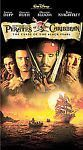 Pirates of the Caribbean: The Curse of the Black Pearl (VHS, 2003) Johnny Depp