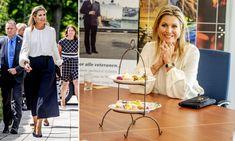 Queen Maxima of the Netherlands visits Doorn Veteran Institute