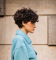 20 best short haircuts for over 40 Short Curly Hair Haircuts short Short Hair For Kids, Short Hair Cuts For Women, Short Hairstyles For Women, Short Curly Cuts, Curly Hair Cuts, Curly Hair Styles, Short Wavy Pixie, Short Curls, Shaggy Pixie Cuts