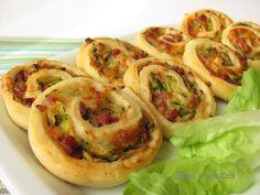 Sfizi e pasticci: Girelle con zucchine e pancetta