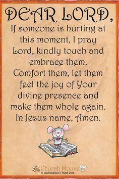 Dear Lord.,.