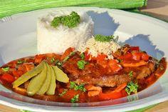 V kuchyni vždy otevřeno ...: Krkovice s pikantní paprikovou směsí