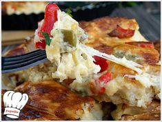 ΤΥΡΕΝΙΑ ΤΑΡΤΑ ΚΟΤΟΠΟΥΛΟΥ!!! - Νόστιμες συνταγές της Γωγώς! Cookie Dough Pie, Food Network Recipes, Cooking Recipes, The Kitchen Food Network, Mashed Potatoes, Cauliflower, Food To Make, Food And Drink, Chicken