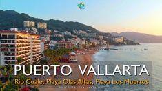 Puente Río Cuale, Isla del Cuale, Playa Olas Altas, Playa Los Muertos, P... Puerto Vallarta, Main Attraction, Destin Beach, Sandy Beaches, Beautiful Beaches, Places To Visit, Mexico, Romantic, Tours