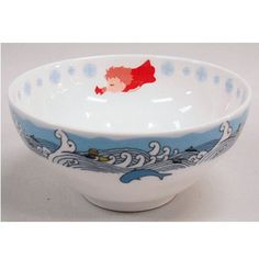 3 left- Rice Bowl - Noritake - Ironstone China - made in Japan - Ponyo - 2009 - no production (new)