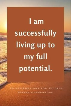 Change your brain and change your life - See this complete list of success affirmations and start using them today for success in your business, your life, and everything you do! Positive Mindset, Positive Affirmations, Journal Writing Prompts, Law Of Attraction Affirmations, Confidence Boost, Negative Self Talk, Change Your Mindset, Mindful Living, Stress Relief