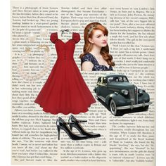 """""""I'm in a vintage mood today..."""" by countrygirl324 on Polyvore"""