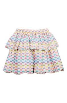Peek 'Festival' Tiered Skirt (Toddler Girls, Little Girls & Big Girls)
