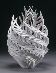 Jennifer McCurdy - not sure if this is a vase or something to put a candle in.. but it's amazing Maybe something for 3D Printer Chat?