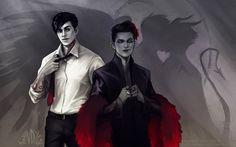 Angel and Demon by O-Zimina on DeviantArt