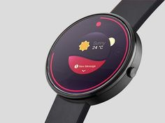 A photorealistic smartwatch mockup for presenting your android apps. It provides Photoshop smart objects to quickly replace the screen. Free PSD created and released by Joan Sterjo. Mobile Ui Design, App Design, Free Design, User Interface Design, Smart Watch, Minimal, Psd Templates, Watch Sketches, Circle Ui