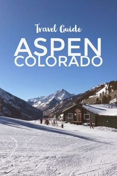 Road Trip to Aspen, Colorado - Inspired Nomad Colorado Winter, Aspen Colorado, Colorado Mountains, Road Trip To Colorado, Visit Colorado, Travel Jobs, Travel Usa, Skiing In America, Colorado Springs