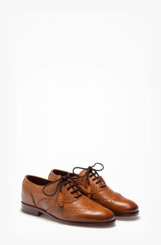 LEATHER BLUCHER - View all - Shoes - WOMEN - Netherlands