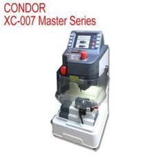 IKEYCUTTER CONDOR XC-007 is XC-007 Master Series Car key cutting machine. XC-007 CONDOR Car Key Cutting Machine support English. XC-007 IKEYCUTTER come with most advanced software and precised mechanism.