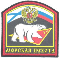 RUSSIAN FEDERATION Naval Infantry Troops, Northern Fleet generic sleeve patch