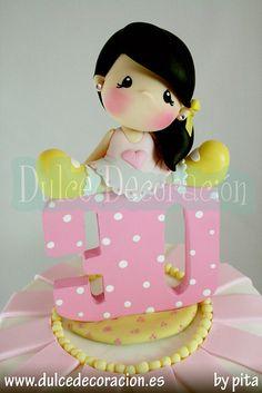 Lalyta 30 años, muñeca decorada by Dulce decoración (modelado - tartas decoradas), via Flickr