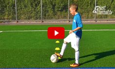 Ball Control Drills for Football. The best videos and articles on the web for football coaches.