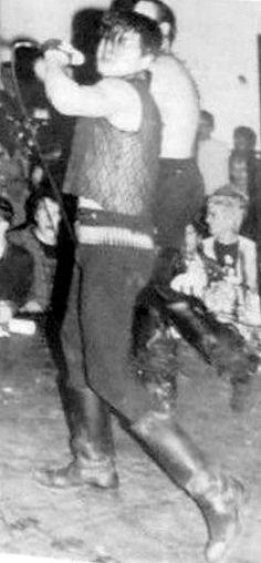 The Misfits in Austin, 1982. Photo: Maria Rocha