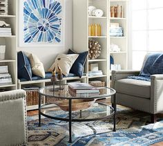 Tanner Round Coffee Table Bronze Project Way To The River - Pottery barn tanner round coffee table